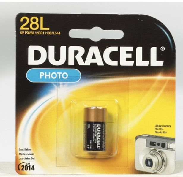 Duracell PX28LBPK Photo Battery, 6 Volt