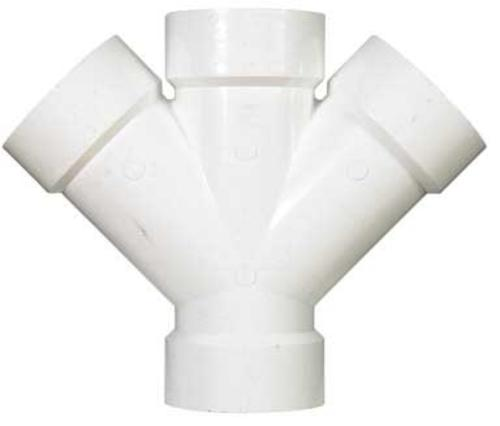buy pvc-dwv tees & wyes at cheap rate in bulk. wholesale & retail plumbing replacement items store. home décor ideas, maintenance, repair replacement parts