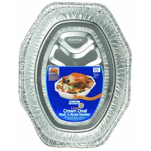 E-Z Foil 1918 Oval Rack'n Roast Roaster Pan