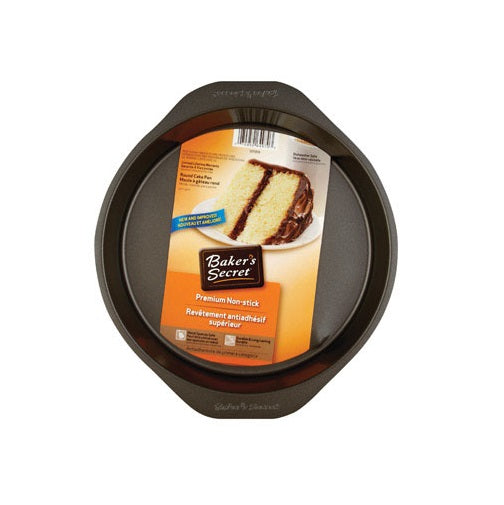 Baker's Secret 1075059 Round Cake Pan, 9