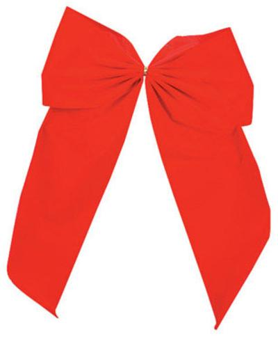 Holiday Trims 7295ACE Extra Large Velvet Bow, Red, 15