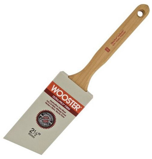 Wooster 4174-2.5 Ultra Pro Firm Lindbeck Angle Sash Paint Brush, 2.5