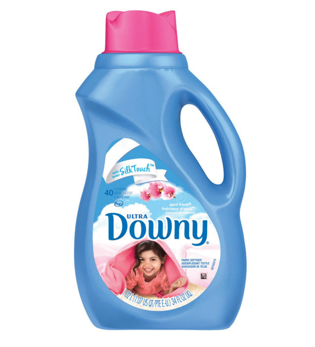 Ultra Downy 35751 Liquid Fabric Softner, 34 Oz