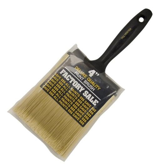 Wooster P3974-4 Factory Sale Straight Paint Brush, 4