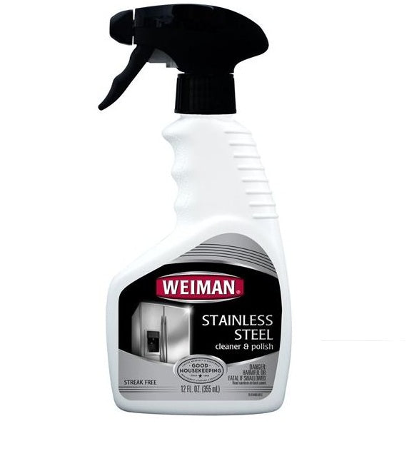 Weiman 76 Stainless Steel Cleaner, 12 Oz