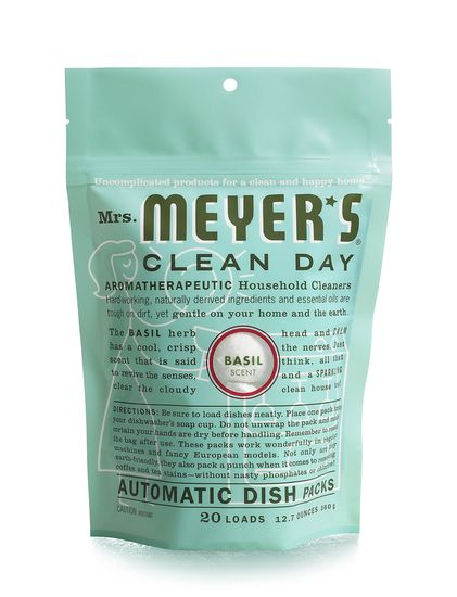 Mrs. Meyer's Automatic Dishwasher Soap, 20 count