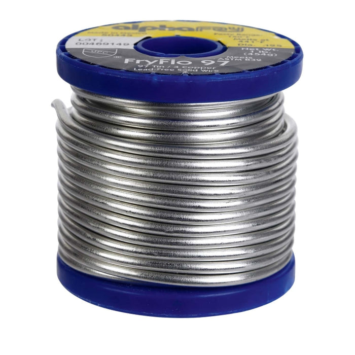Alpha PH50445 Lead Free Solid Wire Solder, 16 Oz