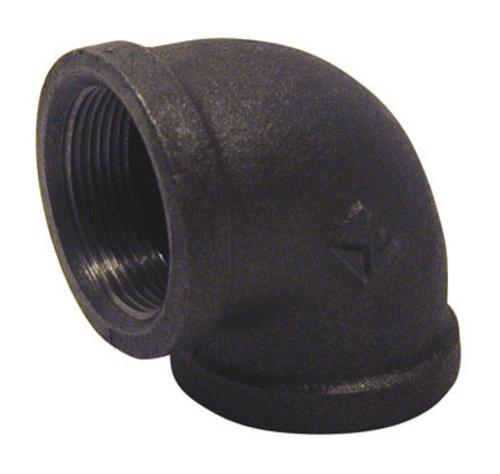 B & K 520-007BG  Black Elbow, 90 Degree 1-1/2