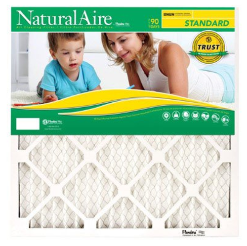 Naturalaire 84858.011010 Standard Pleated Air Filter, 10