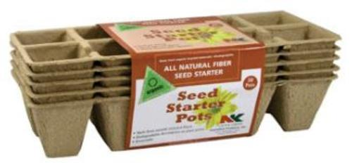 Plantation FS110 Seed Starter Pots (10 Pot, 5 Strips Per Pack, 50 Total)