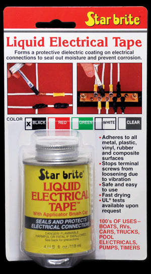 Buy liquid electrical tape star brite - Online store for rough electrical, electrical tape / duct seal in USA, on sale, low price, discount deals, coupon code