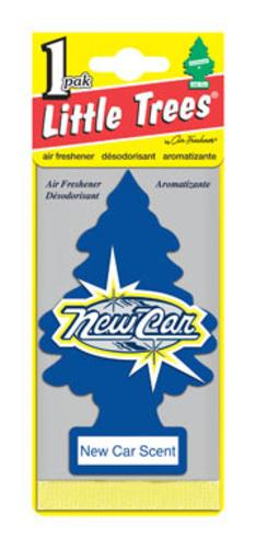 Little Trees U1P-10189 Car Air Freshner, New Car