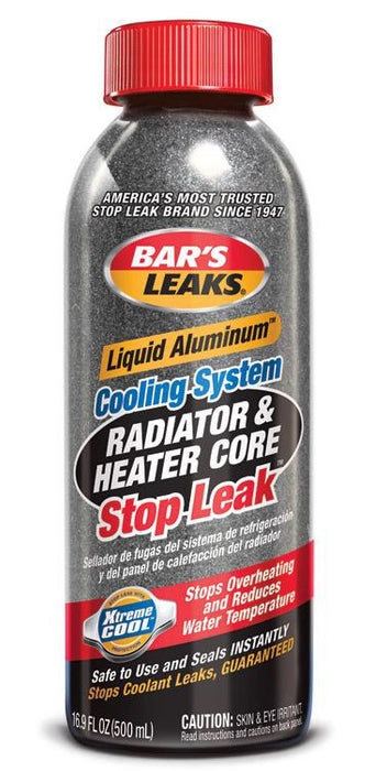 Bar's Leaks 1186 Liquid Aluminum Cooling System Stop Leak, 16.9 Oz