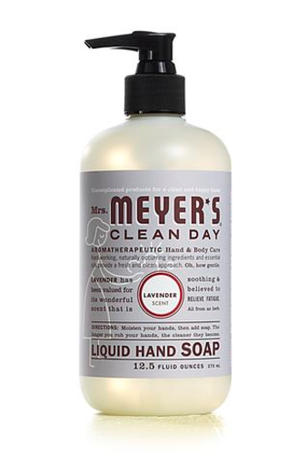 Mrs Meyers Clean Day 11104 Lavender Scent Liquid Hand Soap