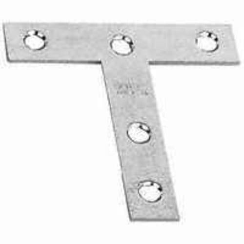 Stanley Hardware 755750 Zinc Plated Steel T-Plate, 3