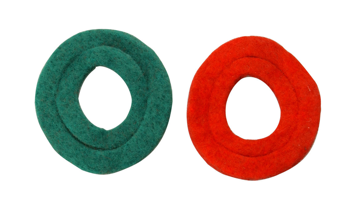 Coleman Cable 989 Anti-Corrosion Battery Washer, Green/Red