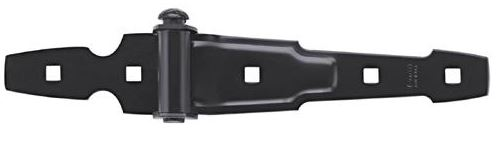 Stanley 76-0845 Ornamental Strap Hinge, Black Coated