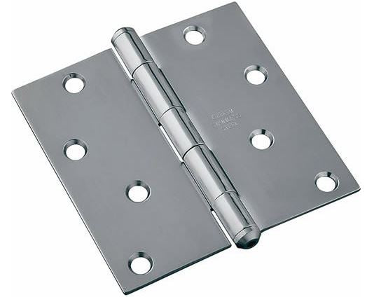Stanley 690370 Residential Door Hinge, Stainless Steel, 4