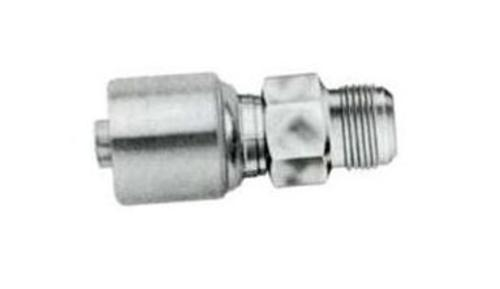 Gates G251650810 G25-Series 8G-10MJ Male Pipe Hydraulic Hose Coupling, 1/2
