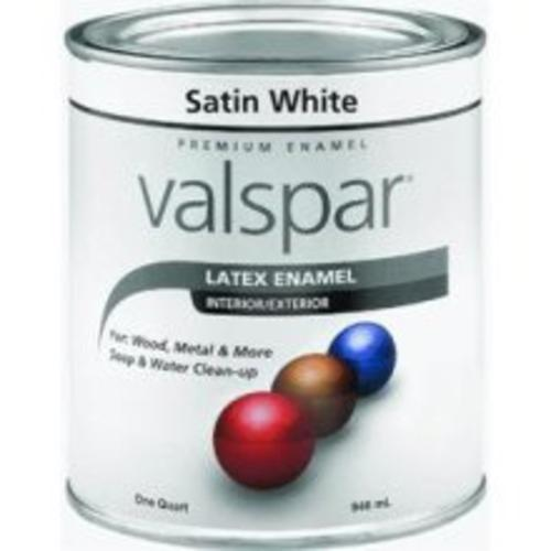 Valspar 410.0065001.005 Acrylic Latex Paint, White