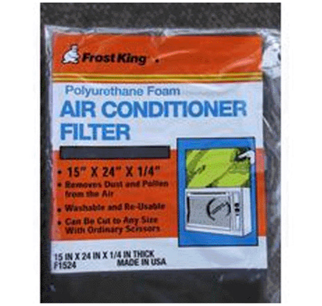 Frost King F1524 Window Air Conditioner Filter, 15