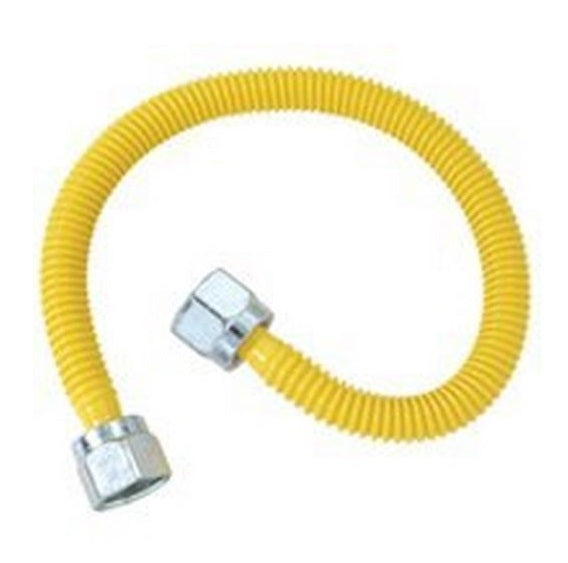 BrassCraft CSSLNN-22N Gas Appliance Connector, 1/4