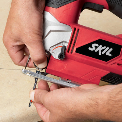 Skil 4395-01 Variable Speed Orbital Jig Saw, 5.5 Amp