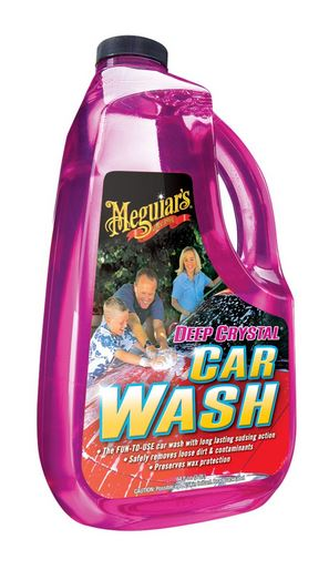 Meguiar's G10464 Deep Crystal Car Wash, 64 Oz