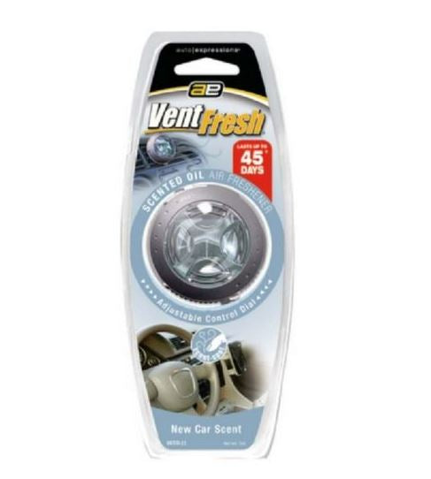 Medo Vntfr-22 Vent Fresh Scented Oil Air Freshener, New Car Scent