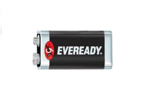 Eveready 5014 Heavy Duty Industrial Batteries, 9 Volt Per Package of 6