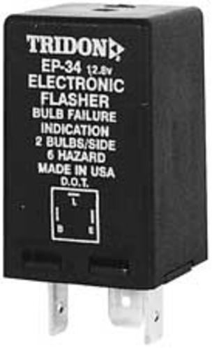 Tridon 80134 3-prong Electronic Flasher #ep34 9-16 V