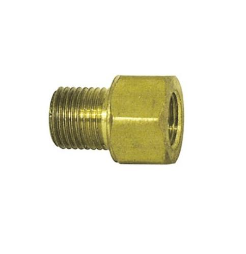Imperial 90164 Dual Master Cylinder Brake Fitting Adapter #7828, Brass