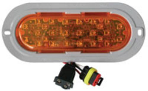 Truck-Lite 81932 26-LED Auxiliary Turn Sealed Lamp, 12 V, Amber