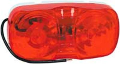 Grote 83875 Duramold 2-Bulb Clearance/Marker Lamp, 4