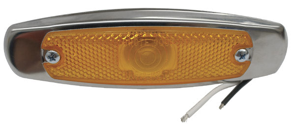 Grote 83918 Rectanglular Low Profile Clearance/Marker Lamp, 5