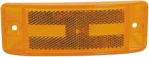 Grote 83968-2 Field Resealable Turtleback II Replacement Lens, Yellow