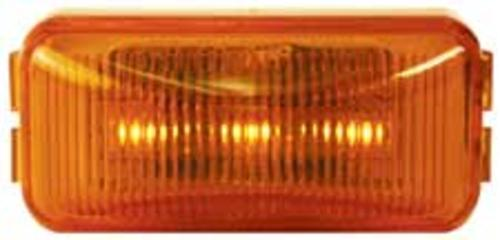 Imperial 81713 3-LED Rectangle Clearance/Marker Lamp, 14 V, Amber