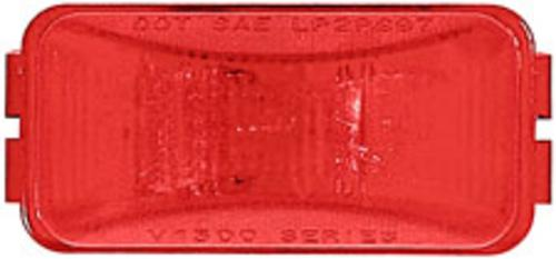 Imperial 81754 Rectangular Incandescent Clearance/Marker Lamp, Red