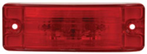 Imperial 81776 Style-23 Sealed Optic Lens Lamp, 12 V, Red