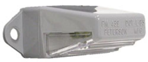 Peterson 80932 License Plate Lamp #M439, 2-3/4