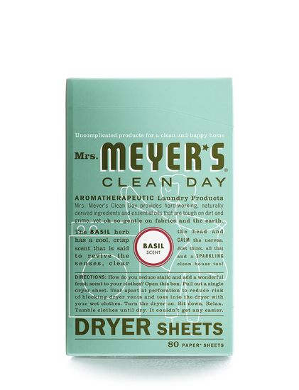Mrs. Meyer's Dryer Sheets, 80 Count
