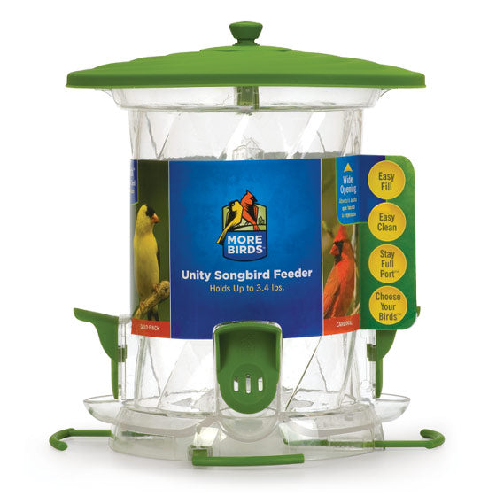 More Birds 24 Unity Bird Feeder 4 Ports