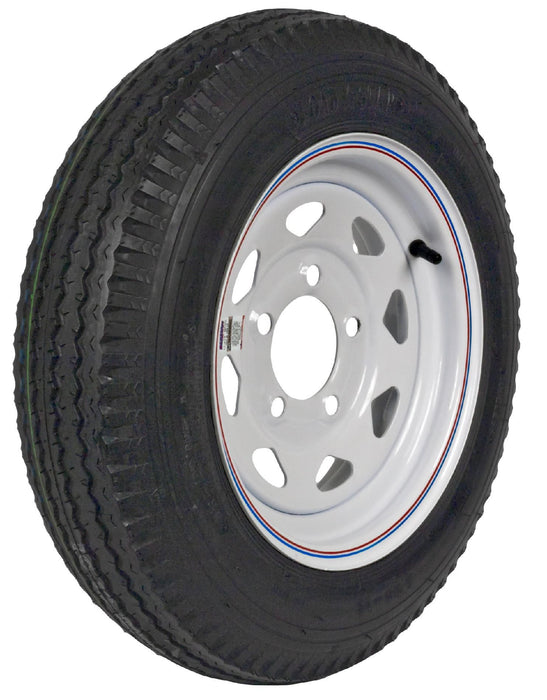 Martin Wheel DM452C-5C-I Loadstar Bias Ply Trailer Tire, 530-12