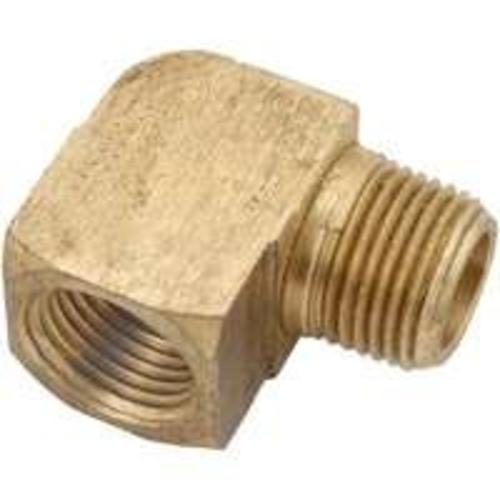 Anderson Metals 756116-04 Brass Pipe Fitting Street Elbow, 1/4