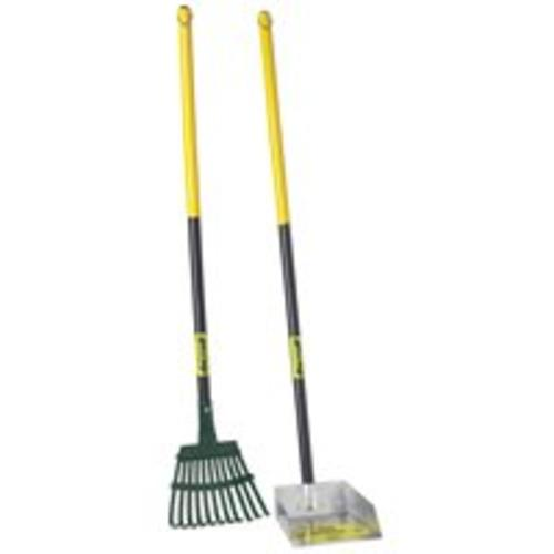 Flexrake 58W Small Scoop Steel Rake 36