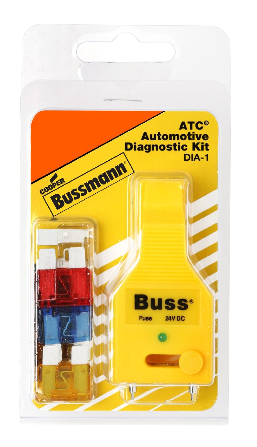 Cooper Bussmann Dia-1 Atc Blade Fuse Automotive Diagnostic Kit, 6-piece