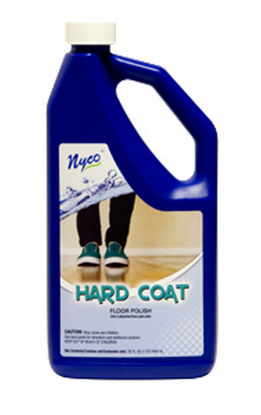 Nyco NL90401-900104 Hard Coat Floor Polish, 128 Oz