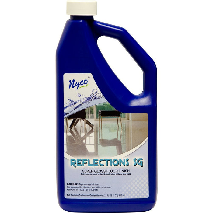 Nyco NL90422-903206 Reflections Super Gloss Floor Finish, 32 Oz