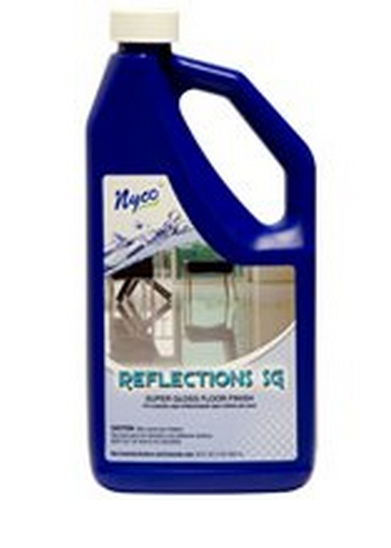 Nyco NL90422-900104 Reflections Super Gloss Floor Finish, 128 Oz