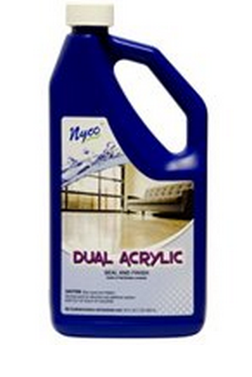 Nyco NL90433-900104 Dual Acrylic Floor Sealer & Finish, 128 Oz